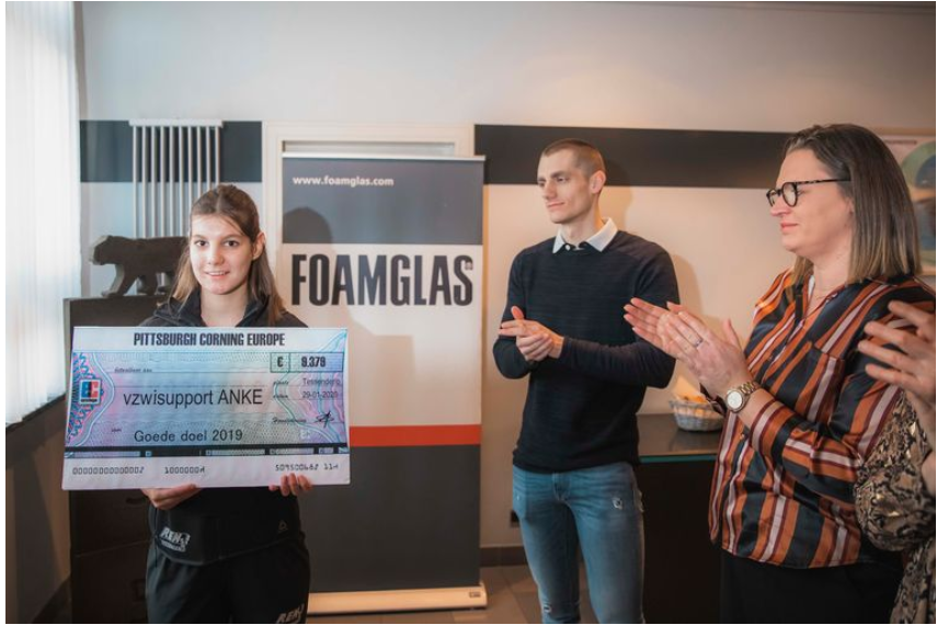 G-atlete Anke Sneyers (18) krijgt 9.379 euro steun